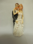 BRIDE AND GROOM TRADITIONAL FIGURINE. STYLE B