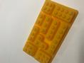 BRICK MOULD LEGO YELLOW