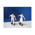 LAWNBOWLERS M/F CAKE TOPPER.