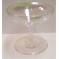 RAINBOW CHAMPAGNE GLASSES cake topper