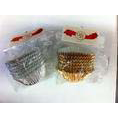 MUFFIN WRAPPERS 70MM FOIL100PKT