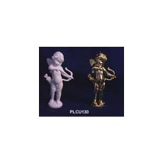 GOLD CUPID PILLAR 80MM