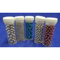 VIAL CASHOUS. cashews, pink,black,red,blue,silver,gold