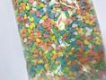 SUGAR HEARTS 200G ASSORTED COLOURS