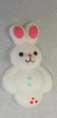 SUGAR RABBITS IN 2 COLOURS WHITE AND PINK. PRICED PER EACH.SUGAR BUNNIES. BUNNY,