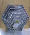 HEXAGONAL TIN NO 3